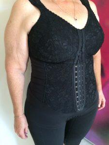 Black Compression Garment